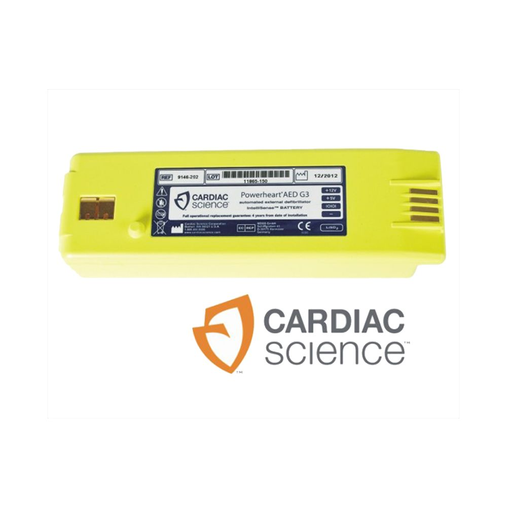 Batterij Cardiac Science AED's