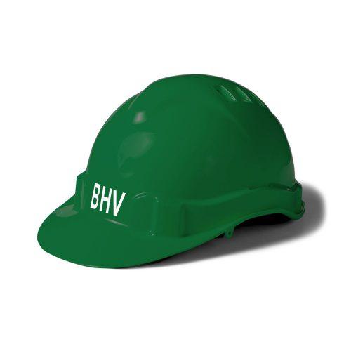 veiligheidshelm-groen-bhv-wit