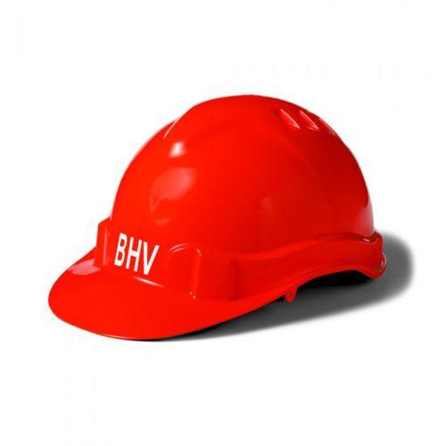 veiligheidshelm-rood-bhv-wit